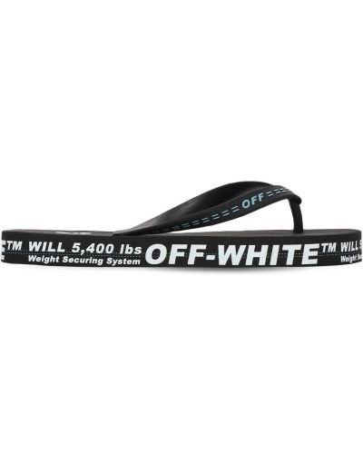 Вьетнамки - черные Off-white