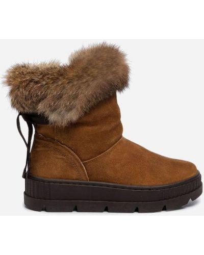 Ботинки - коричневые Gino Rossi