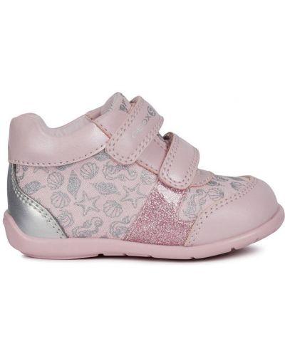 Мокасины розовый детский Geox
