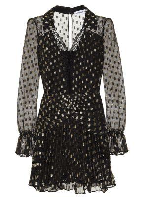 Платье мини - черное Self-portrait