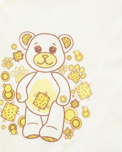 Распашонка желтый детский три медведя