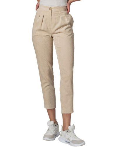 Beżowe spodnie na lato Figl