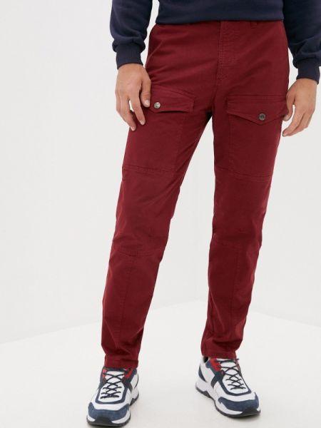 Бордовые брюки карго Angelo Bonetti