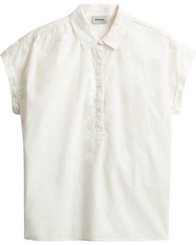 Klasyczna koszula krótki rękaw bawełniana Woolrich