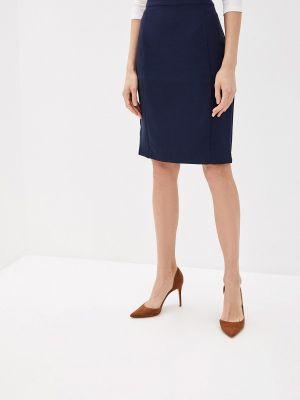 Клубная синяя юбка карандаш с рукавом 3/4 Concept Club