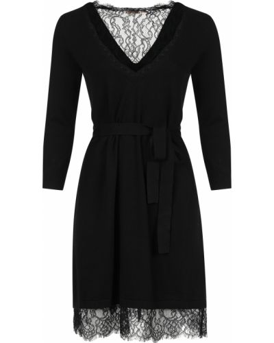 Шерстяное платье - черное Twin-set