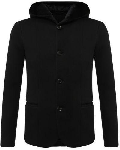 Пиджак однобортный с капюшоном Emporio Armani