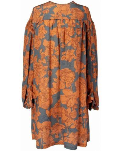 Pomarańczowa sukienka Alysi