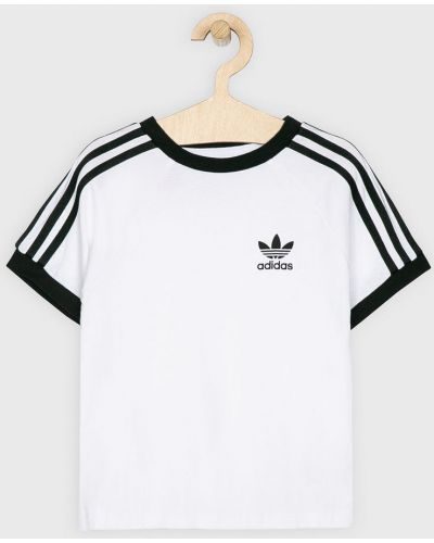 Футболка трикотажная белая Adidas Originals