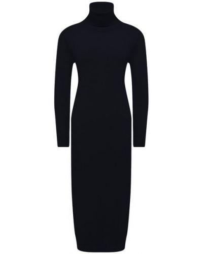 Синее итальянское платье Pietro Brunelli