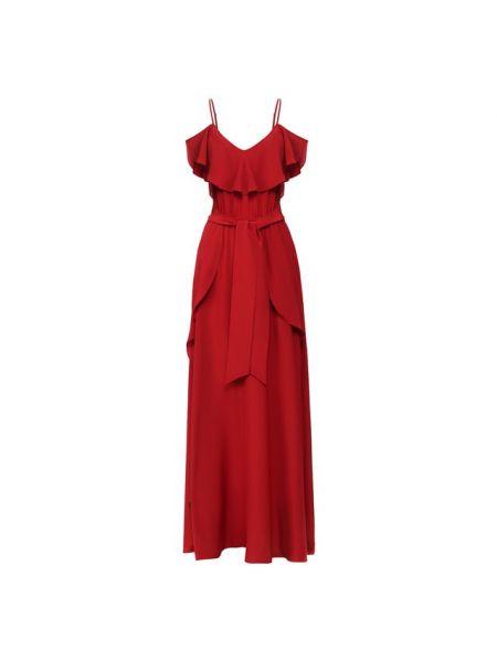 Красное шелковое платье Lazul