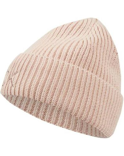 Czapka beanie - różowa Ck Calvin Klein