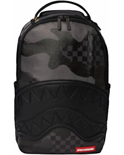 Czarny plecak Sprayground