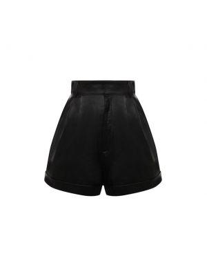 Черные итальянские шорты Manokhi