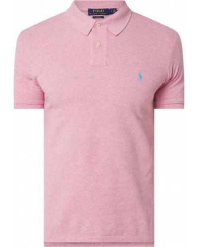 Różowy bawełna bawełna t-shirt Polo Ralph Lauren