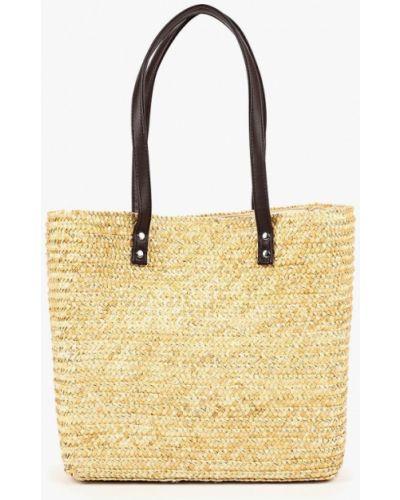 Бежевая пляжная сумка Dorothy Perkins