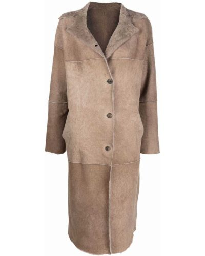 Длинное пальто Giorgio Brato