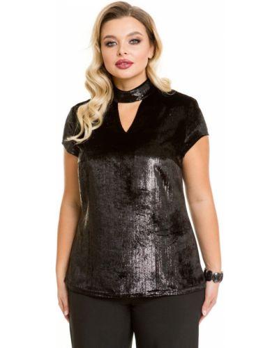 Нарядная с рукавами блузка с вырезом Novita