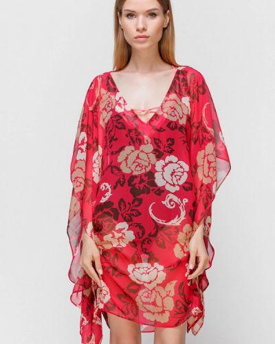 Пляжное платье весеннее красный Fantasie