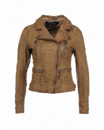 Кожаная куртка весенняя Oakwood