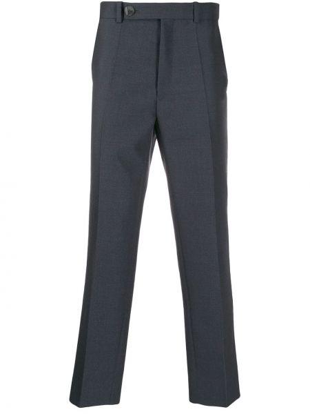 Прямые черные прямые брюки с поясом новогодние Namacheko