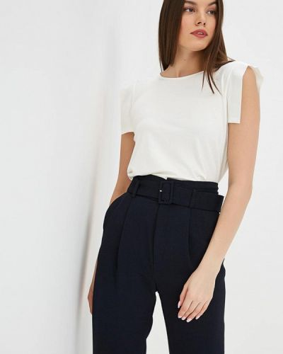 Блузка без рукавов белая весенний Madeleine