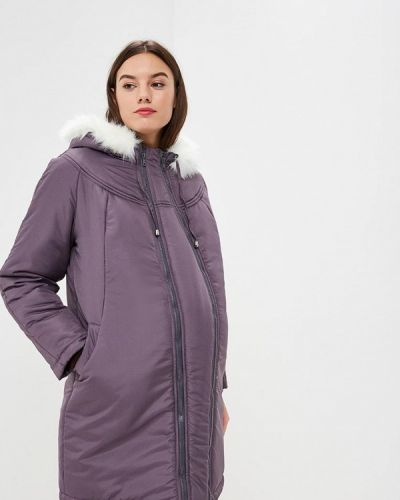 Утепленная куртка - серая очаровательная адель