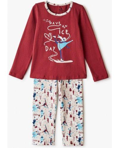 Бордовая пижамная пижама Baykar
