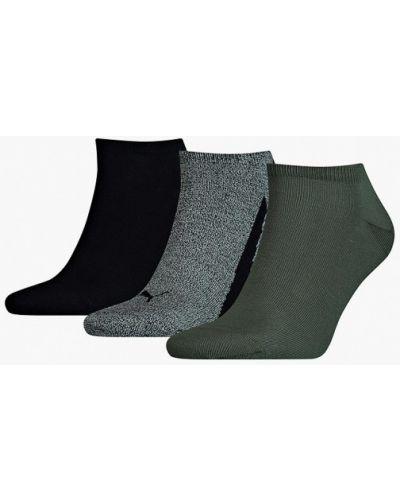 Зеленые носки Puma