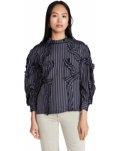 Блузка с нашивками Toga Pulla