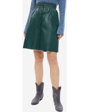 Кожаная юбка Pepe Jeans