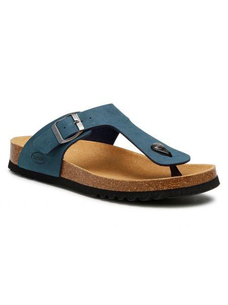 Niebieskie sandały na lato Scholl