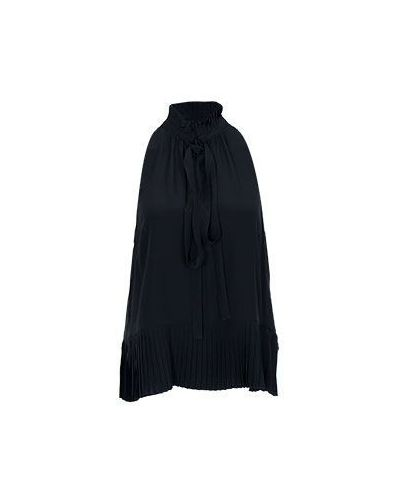 Блузка в стиле бохо - черная Roberto Cavalli