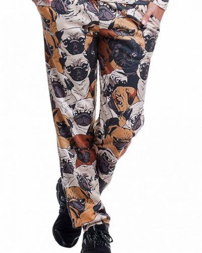 Коричневые спортивные брюки Fusion
