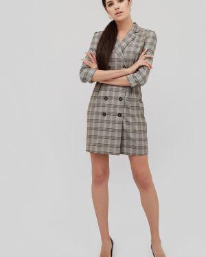 Приталенное платье мини двубортное Cardo