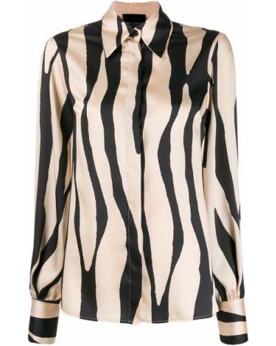 Рубашка с длинным рукавом в полоску под запонки Erika Cavallini