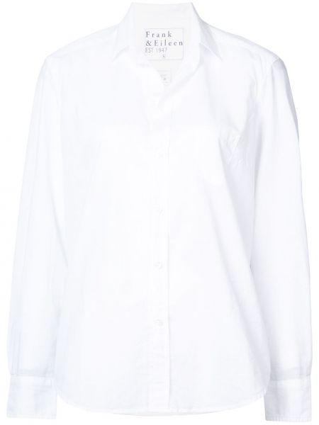 Хлопковая рубашка - белая Frank & Eileen