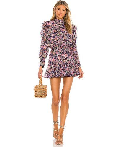 Платье с декольте с подкладкой с манжетами Misa Los Angeles