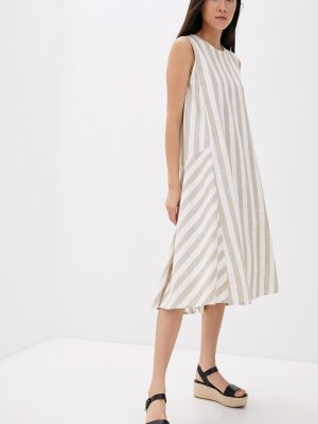 Бежевое платье Baon