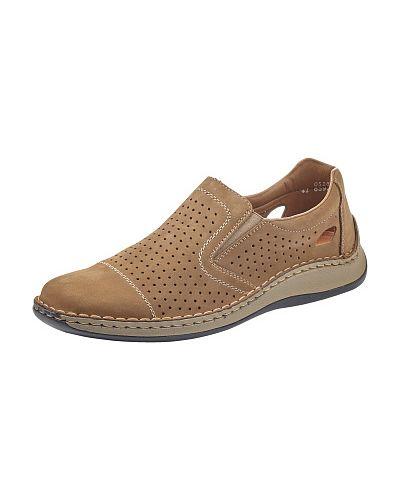 Бежевые туфли Rieker
