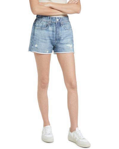 Szorty jeansowe - niebieskie Rag & Bone