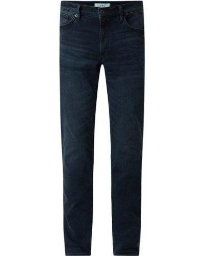 Niebieskie mom jeans bawełniane Brax
