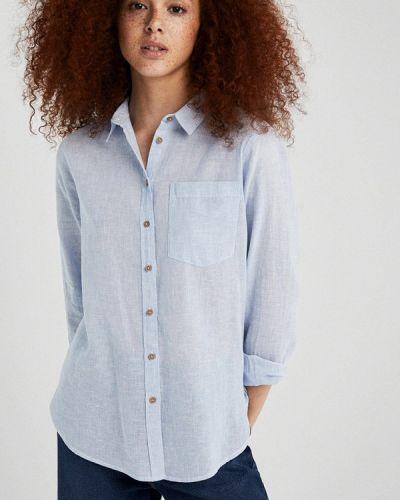 Рубашка с длинным рукавом голубой Springfield