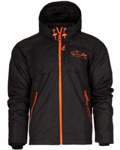 Куртка с капюшоном утепленная черная Extreme Hobby