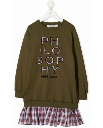 Zielona sukienka Philosophy Di Lorenzo Serafini