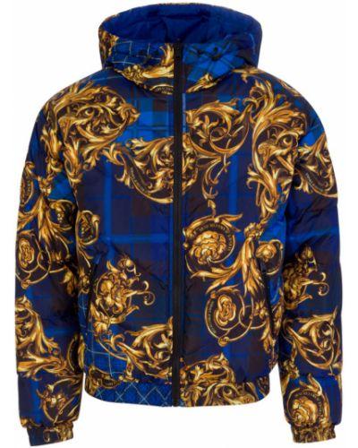 Płaszcz - niebieski Versace Jeans Couture