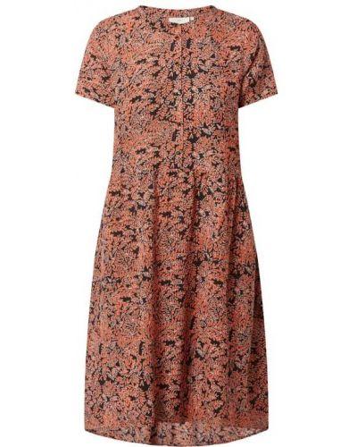 Sukienka rozkloszowana bawełniana Kaffe
