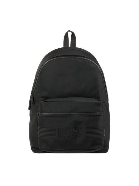 Czarny plecak na laptopa Boss
