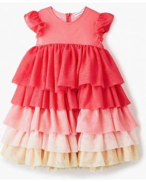 Розовое платье на торжество Sonia Rykiel