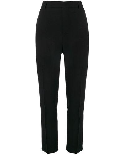 Czarne spodnie materiałowe Rick Owens